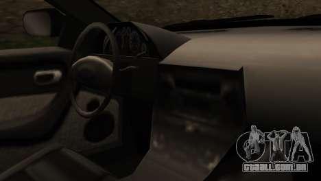 Indonesian Police Type 2 para GTA San Andreas vista direita
