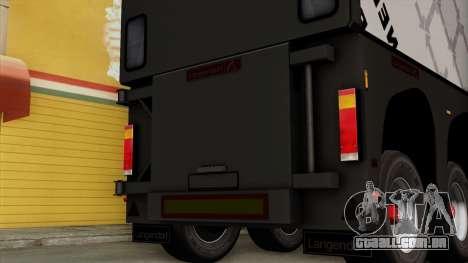 Trailer Glass v2 para GTA San Andreas vista direita