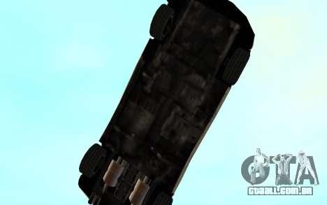 GTA 3 Infernus SA Style v2 para GTA San Andreas vista superior
