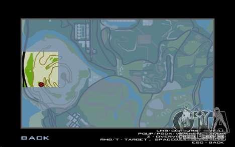 Cachoeira v0.1 Beta para GTA San Andreas sexta tela