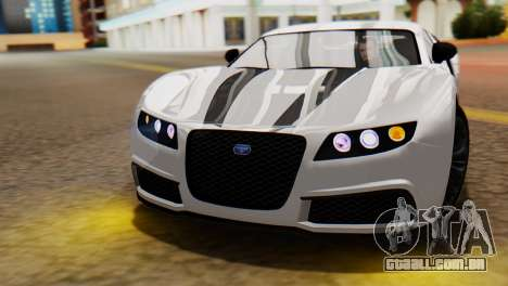 GTA 5 Adder Tire Dirt para GTA San Andreas vista direita