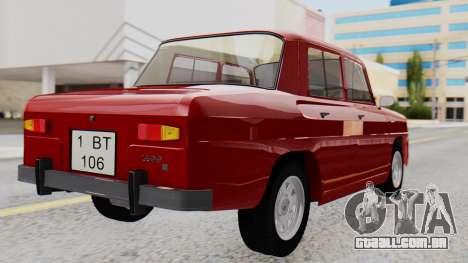 Dacia 1100 Sport para GTA San Andreas esquerda vista