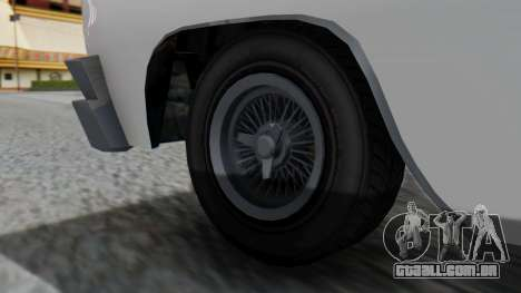 GTA 5 Declasse Voodoo para GTA San Andreas traseira esquerda vista