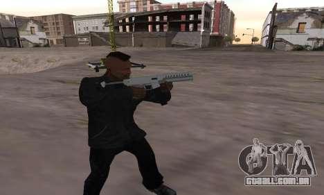 Combat PDW from GTA 5 para GTA San Andreas segunda tela