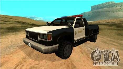 New Yosemite Police v2 para GTA San Andreas
