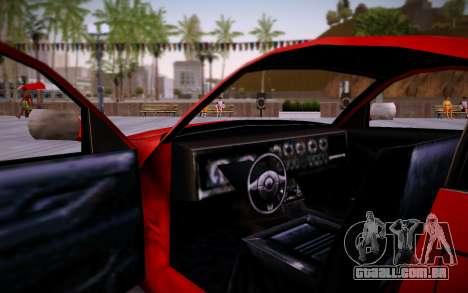 Nissan 350Z SA Style para GTA San Andreas vista direita
