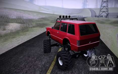 Huntley Monster v3.0 para GTA San Andreas esquerda vista
