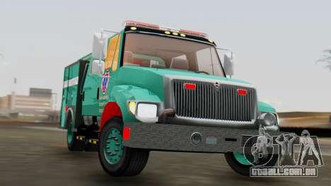 SACFR International Type 3 Rescue Engine para GTA San Andreas