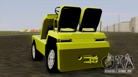 GTA 4 Airtug HQS para GTA San Andreas vista direita