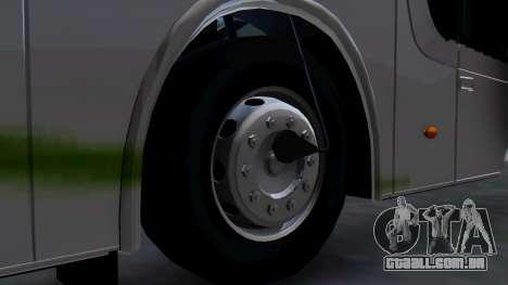Busscar Elegance 360 para GTA San Andreas traseira esquerda vista