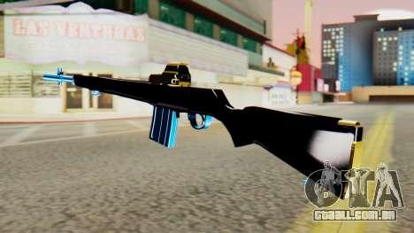 Fulmicotone Rifle para GTA San Andreas segunda tela