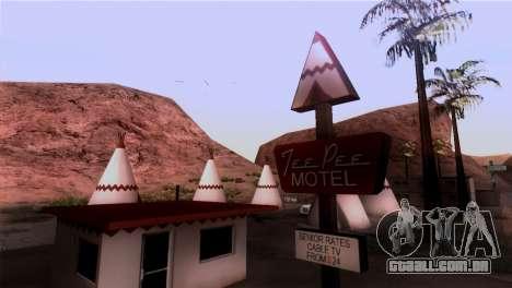 A Represa Sherman para GTA San Andreas segunda tela