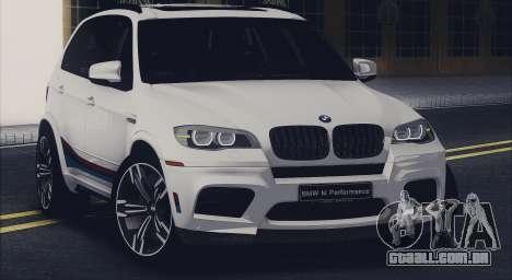 BMW X5M MPerformance Packet para GTA San Andreas