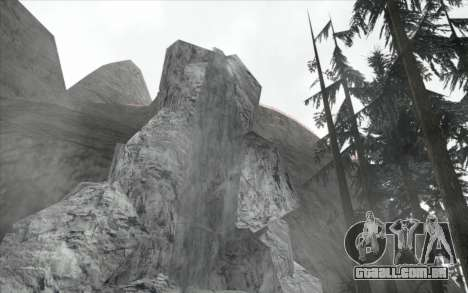 Cachoeira v0.1 Beta para GTA San Andreas terceira tela