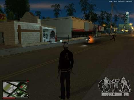 Loucura, no estado de San Andreas. Beta. para GTA San Andreas terceira tela