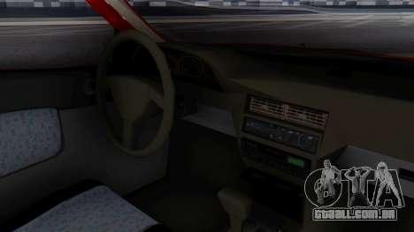 Toyota Starlet 5P 1.3L 1998 para GTA San Andreas vista direita
