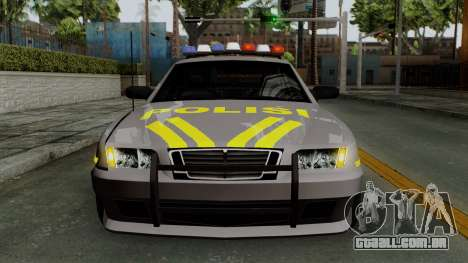 Indonesian Police Type 1 para GTA San Andreas vista superior