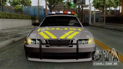 Indonesian Police Type 1 para GTA San Andreas vista superior