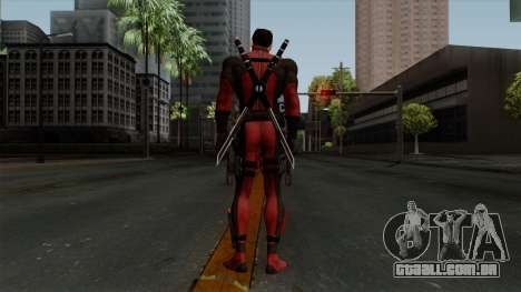 Deadpool without Mask para GTA San Andreas terceira tela