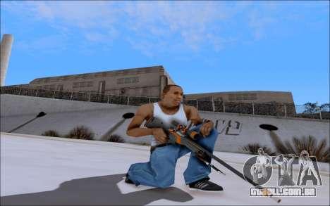 AWP Carbone Edition para GTA San Andreas segunda tela