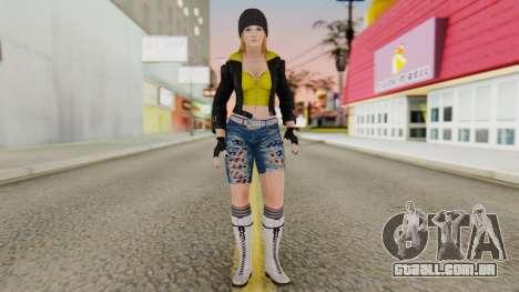Dancing Girl para GTA San Andreas segunda tela