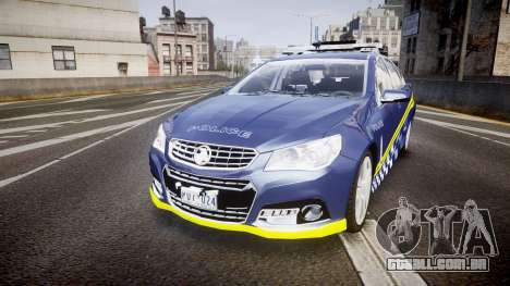 Holden VF Commodore SS Highway Patrol [ELS] v2.0 para GTA 4