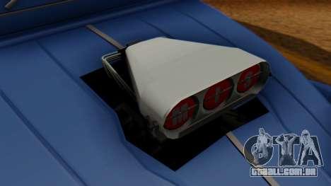 Citroen 2CV (jian) Drag Style Edition para GTA San Andreas vista direita