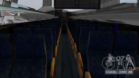 Busscar Elegance 360 para GTA San Andreas vista traseira