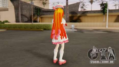 Nadja [Ashita no Nadja] para GTA San Andreas terceira tela
