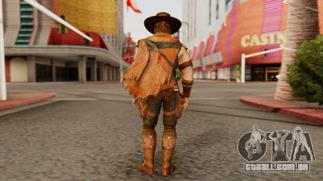 Erron Black [MKX] para GTA San Andreas terceira tela