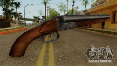 Original HD Sawnoff Shotgun para GTA San Andreas segunda tela