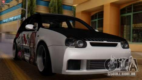 Volkswagen Golf R32 JDM Itasha para GTA San Andreas