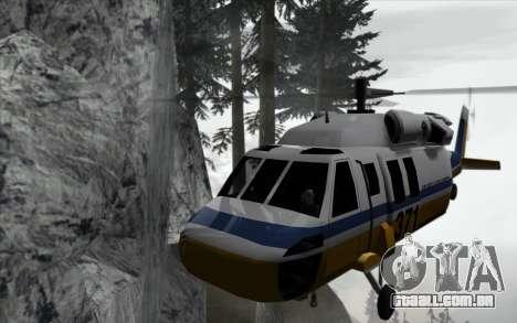 Cachoeira v0.1 Beta para GTA San Andreas por diante tela
