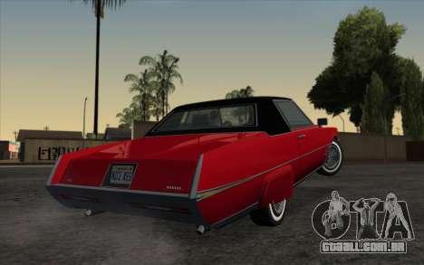 ENBSeries For Low PC v5.0 para GTA San Andreas por diante tela