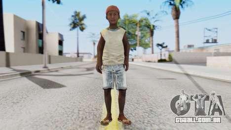 African Child para GTA San Andreas segunda tela