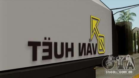 Trailer Glass v2 para GTA San Andreas vista traseira