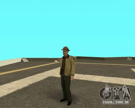 Novo skin para os policiais fora LVPD para GTA San Andreas