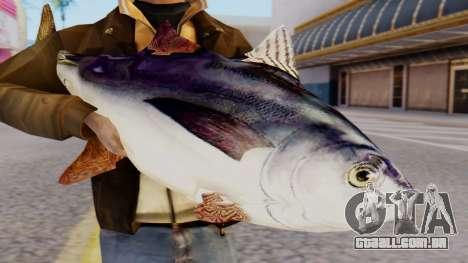 Tuna Fish Weapon para GTA San Andreas terceira tela