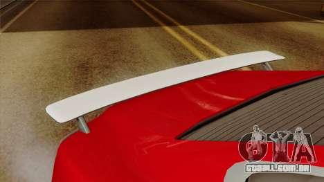 GTA 5 Albany Alpha v2 para GTA San Andreas vista direita