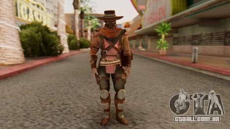 Erron Black [MKX] para GTA San Andreas segunda tela