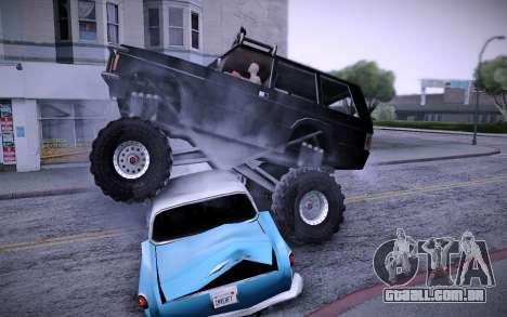 Huntley Monster v3.0 para GTA San Andreas vista direita