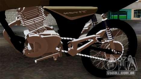 CB1 Stunt Imitacion para GTA San Andreas vista traseira