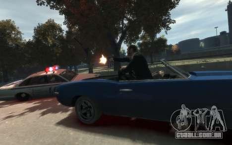 Declasse Vigero Cabrio para GTA 4 vista direita