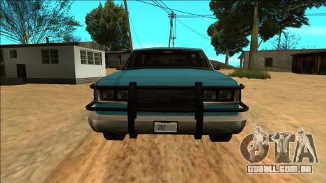 New Yosemite para GTA San Andreas vista direita