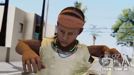 African Child para GTA San Andreas