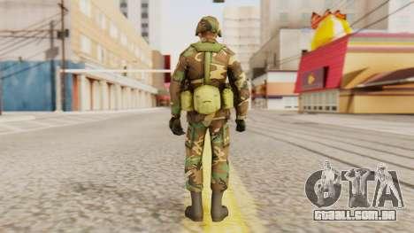 Soldados do exército dos EUA para GTA San Andreas terceira tela