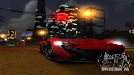 ENB Zix 3.0 para GTA San Andreas por diante tela