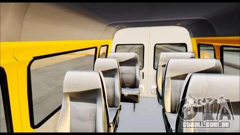 Gazela 3221 2007 Final para GTA San Andreas vista direita