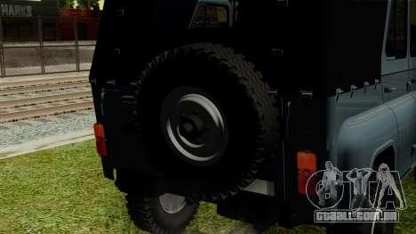 UAZ-3151 para GTA San Andreas vista traseira