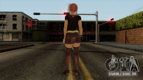 RE Dead Or Alive 5LR - Honoka C5 para GTA San Andreas terceira tela